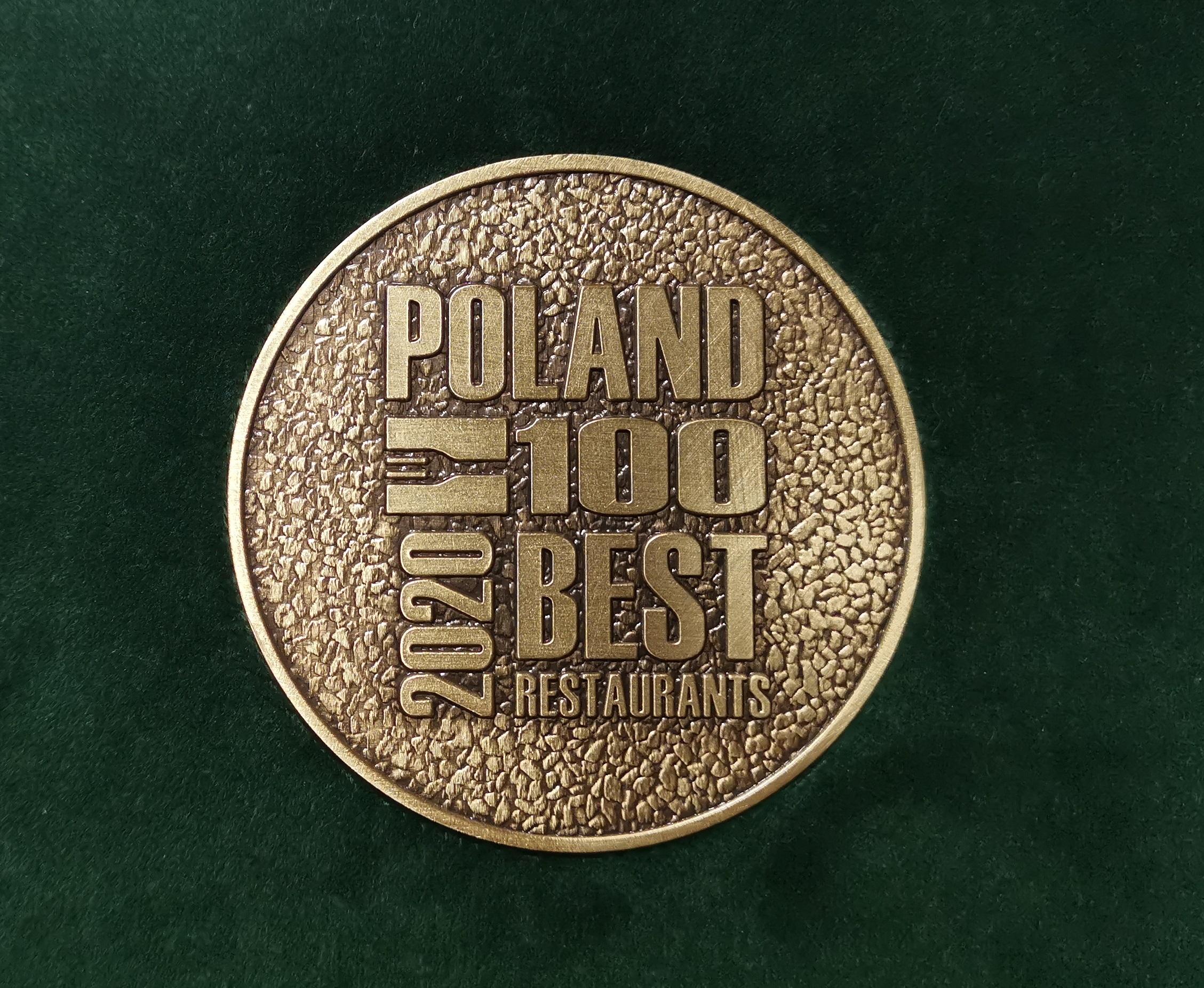 POLAND 100 BEST RESTAURANT AWARDS 2020