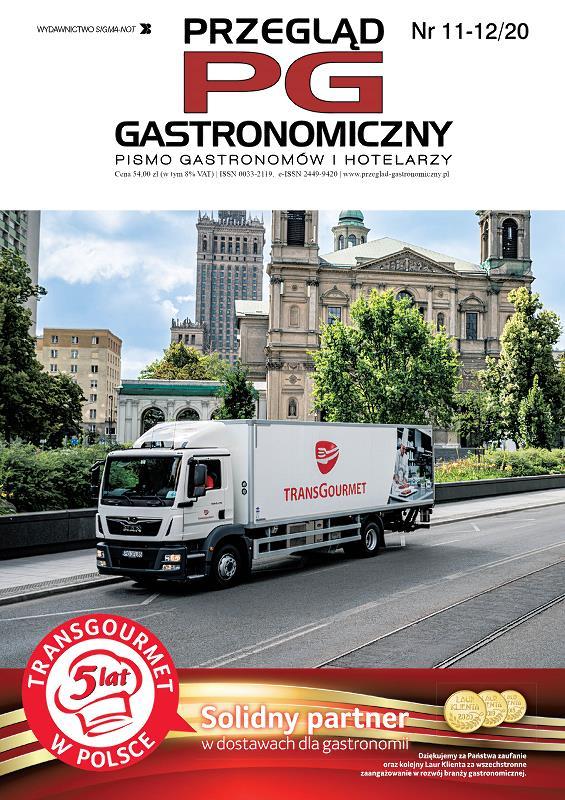 Przegląd Gastronomiczny wydanie listopad-grudzień 2020